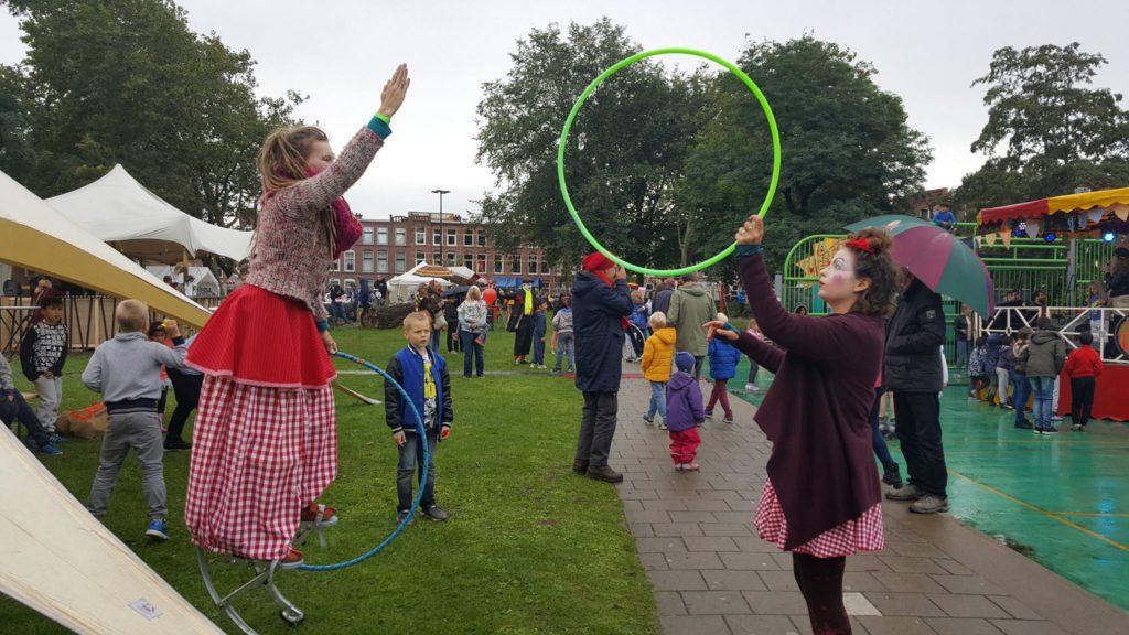Hoepelgooien op Festival Het Circus