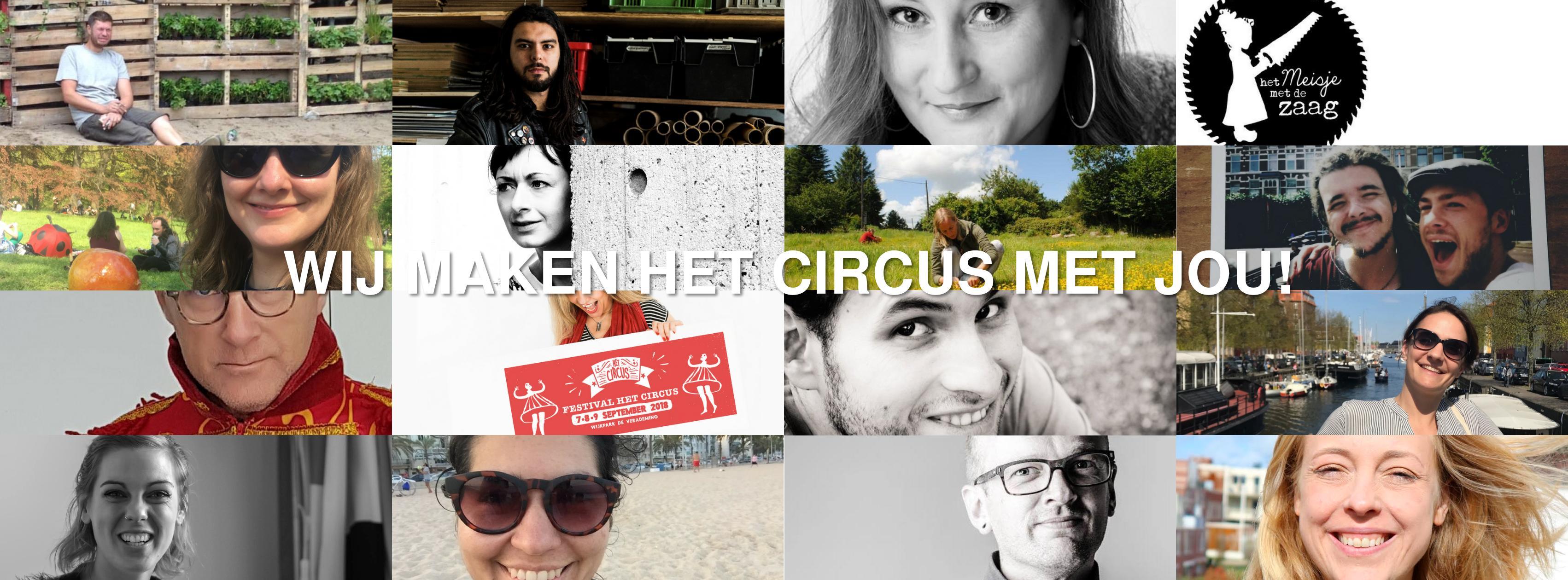 Medewerkers Festival Het Circus