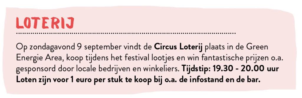 Festival Het Cirusloterij